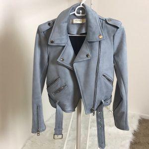 Zara Sued Moto Jacket